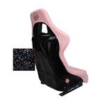 NRG,FRP,Bucket,Seat,PRISMA,Edition,pearlized,Back,Pink,Alcantara,Large