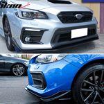 18+,Subaru,WRX,STI,S208,Style,Front,Bumper,Lip,Spoiler,Unpainted,PU