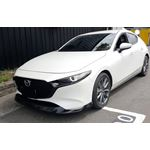 2019+, Mazda, 3, Hatchback, MP, Style, Front, Bumper, Lip
