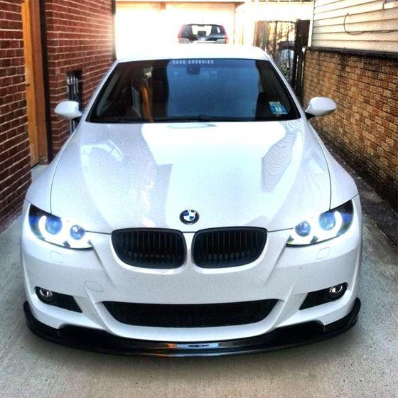 2007-2010, BMW, E92/E93, 3, SERIES, 2, DOOR, H, STYLE, FRONT, BUMPER, LIP, FOR, M, SPORT, BUMPER, CA
