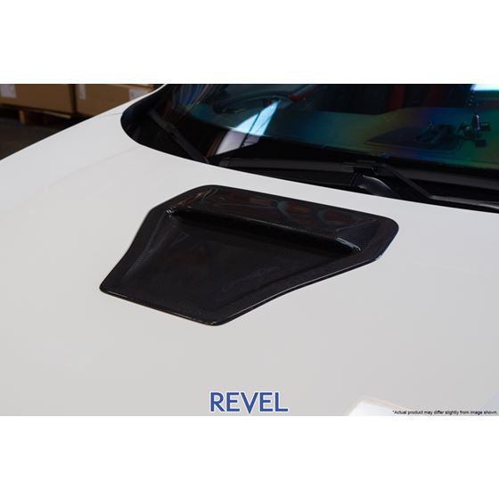 1TR4GT0AH10,Revel, GT ,Dry, Carbon, Engine, Hood ,Scoop ,Cover, 17+, Honda ,Civic, Type-R,FK8