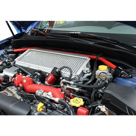 Perrin Strut Tower Brace Red – 2008-2014 Subaru WRX STi