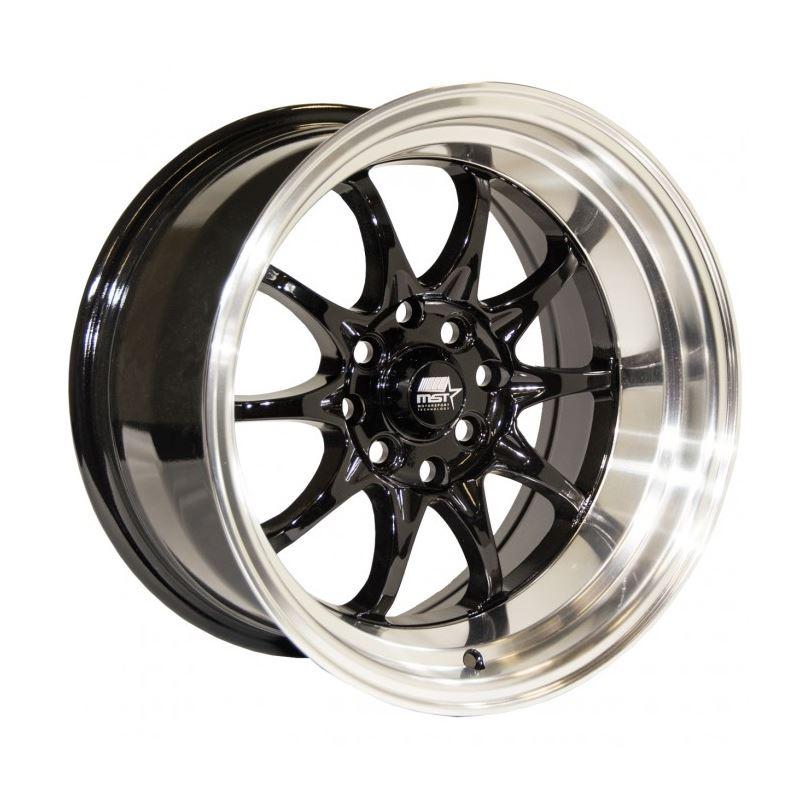 MST Wheels MT11 16x8 +15 4x100/4x114.3 73.1 - Blac
