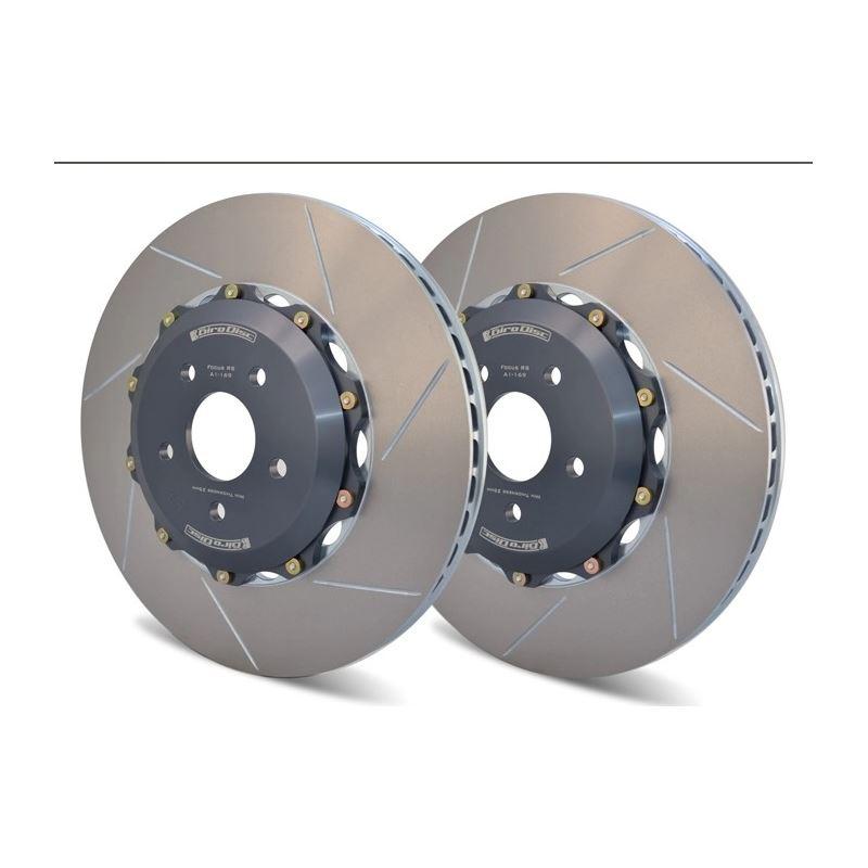 Girodisc Front 2pc Floating Rotors for Subaru STI