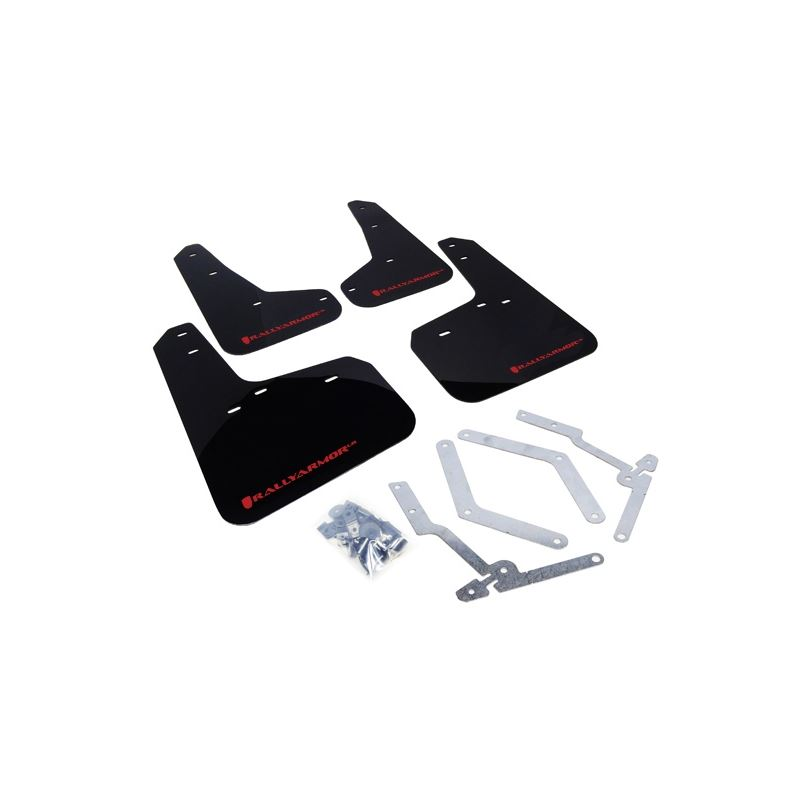 Rally Armor 13+ Ford Focus ST Mud Flap w/ Color Lo