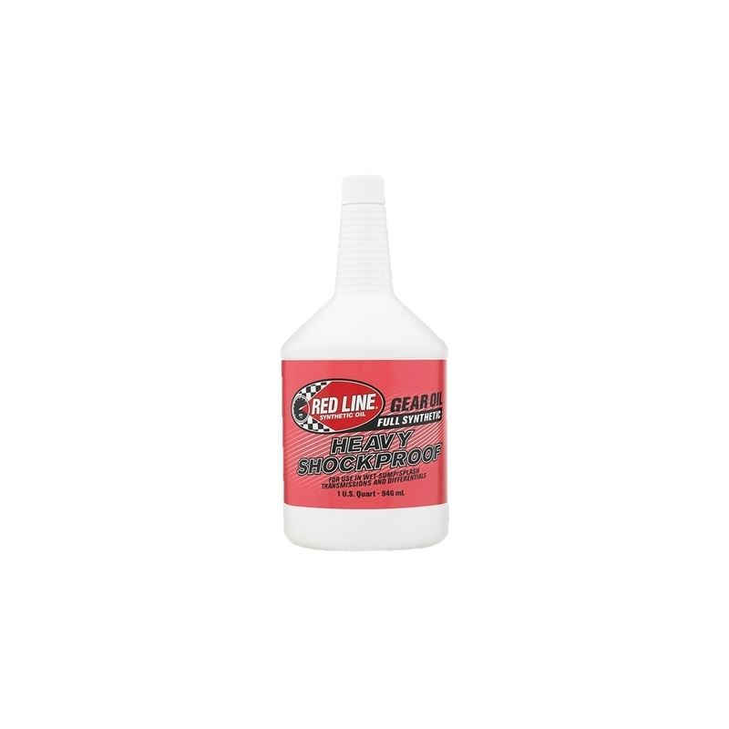 Red Line Heavy Shockproof Gear Oil 1 Quart
