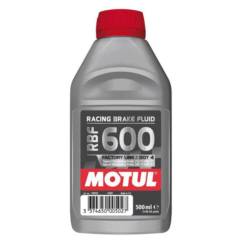 Motul RBF600 Factory Line Brake Fluid – 500mL Bott