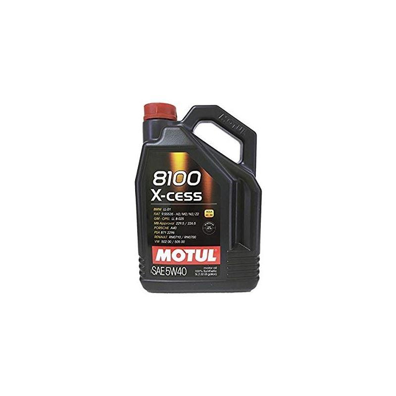 Motul Motor Oil - 8100 X-clean+ 5W-30 5L JUG