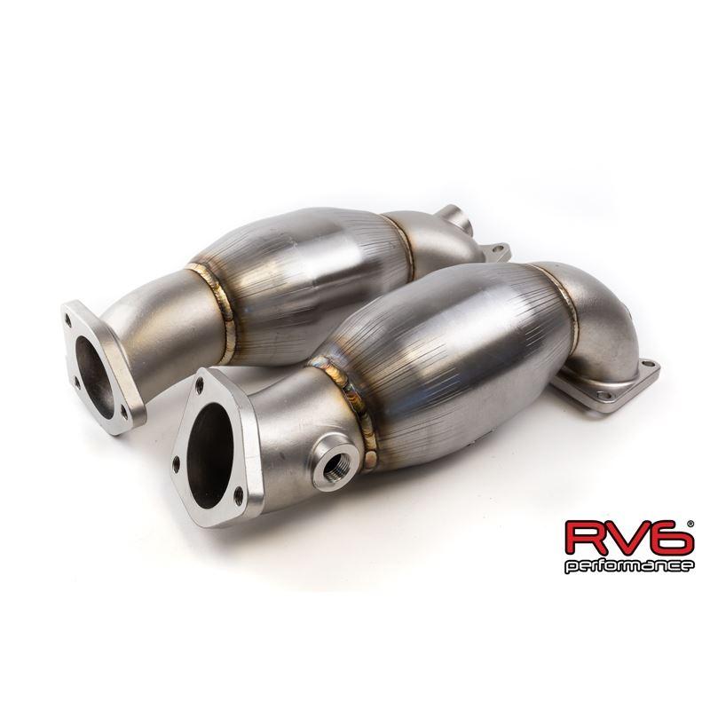 RV6 GEN 2 High Flow Precat Kit For 07-09 Acura MDX