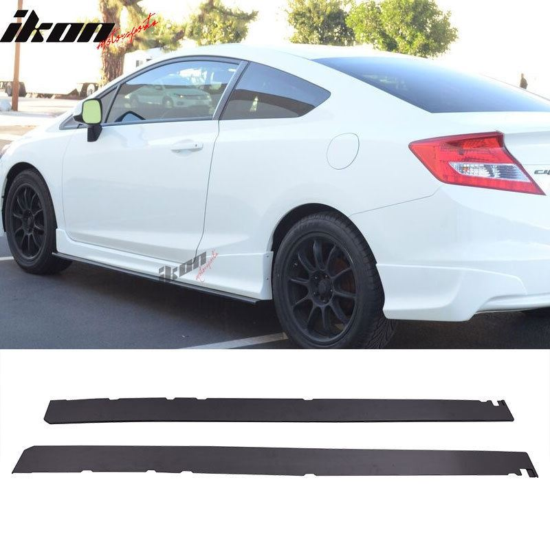 """Universal 72.5"""" Add On Side Skirts Extensions Poly"""