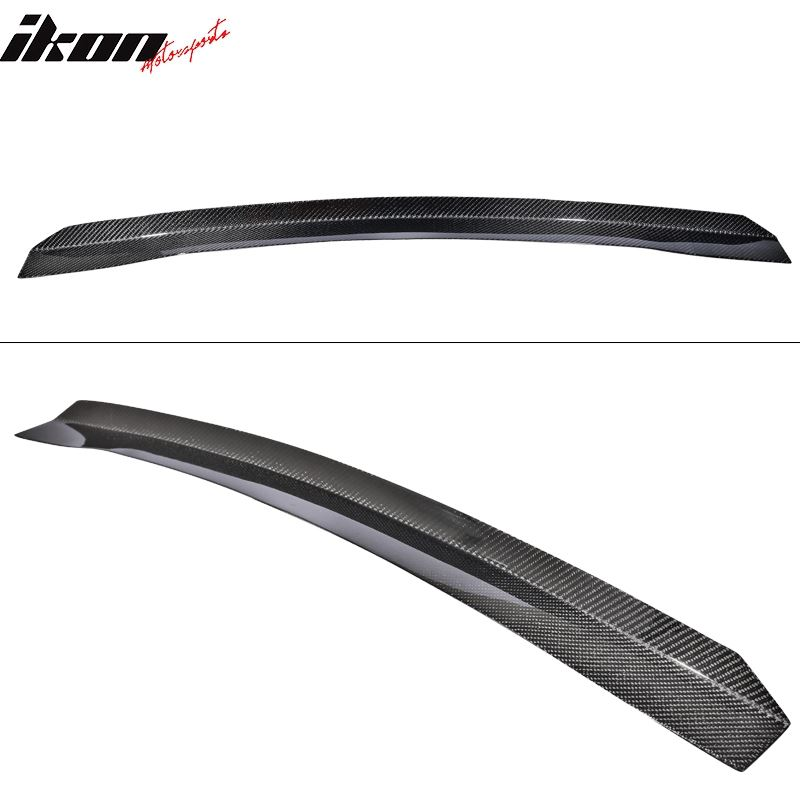 08-14 WRX STi Top Gurney Flap Add-On Carbon Fiber
