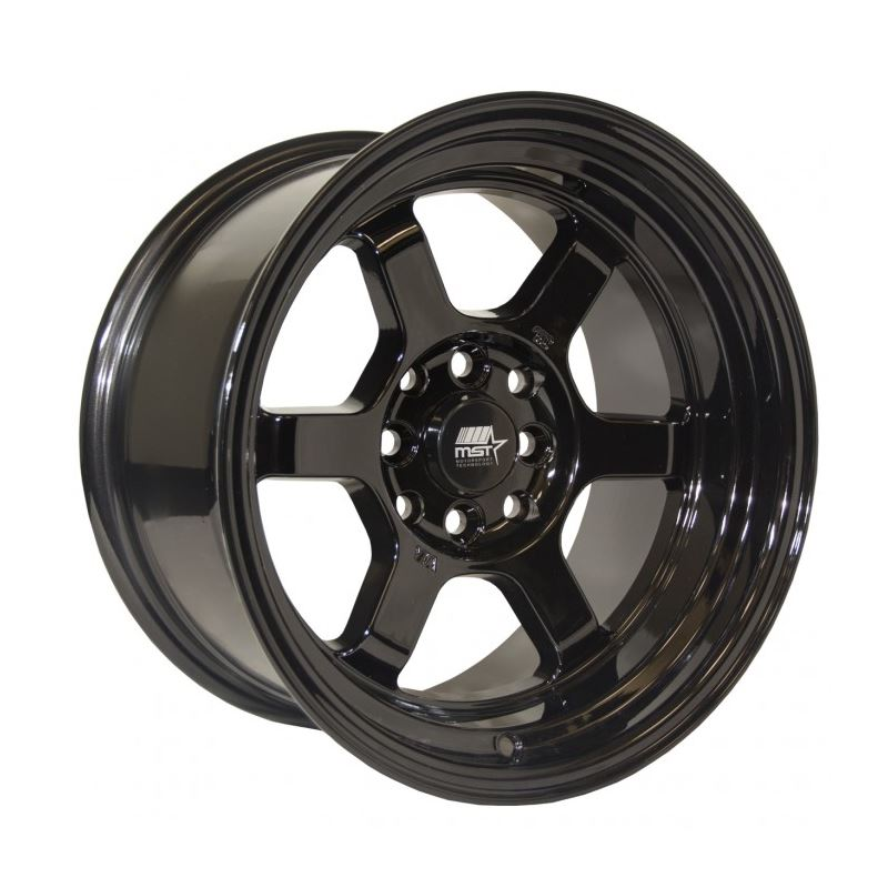 MST Wheels Time Attack 15x8 0 Offset 4x100/4x114.3