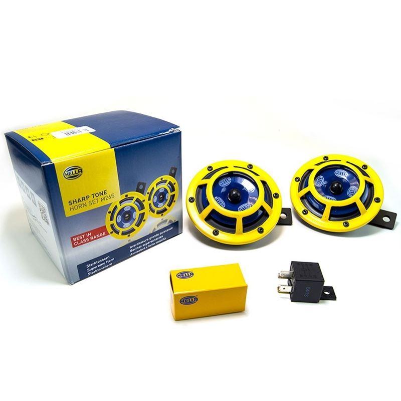 Hella Sharptone Horn Kit (Yellow)