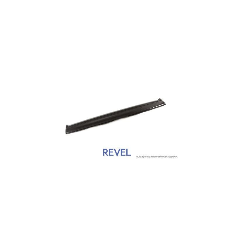 Revel GT Dry Carbon Front Panel (Center) Tesla Mod