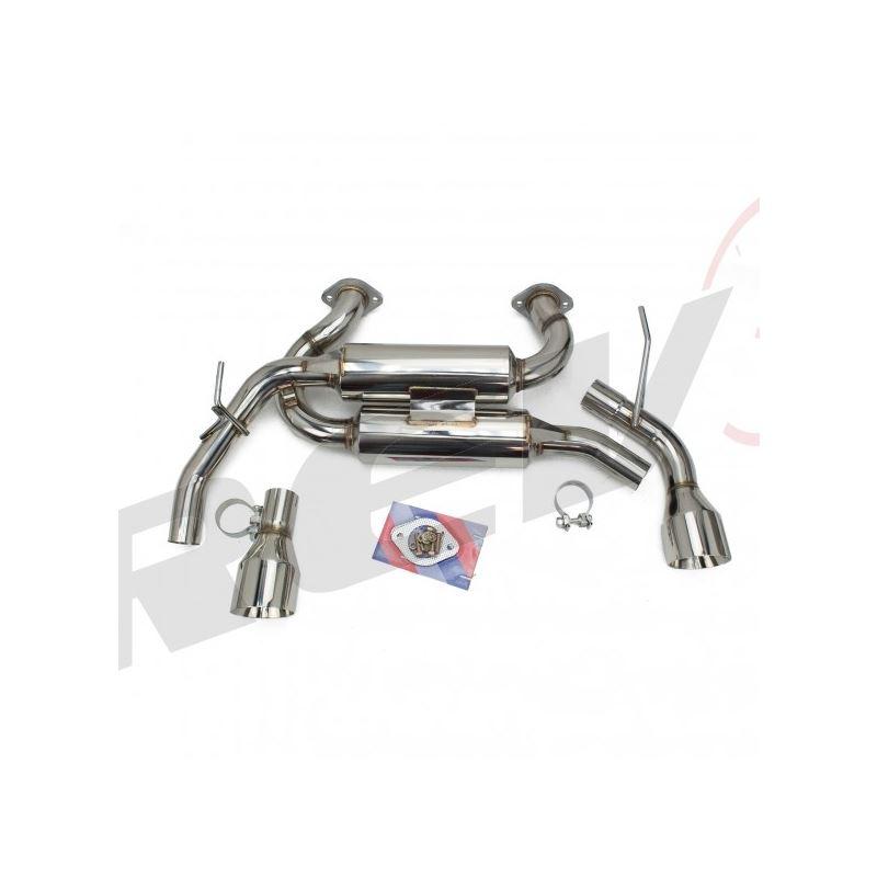 Infiniti Q50 2014-18 FlowMaxx Stainless Axle-Back