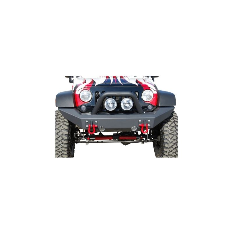 MBRP 07-18 Jeep Wrangler JK Front Full Width Non W
