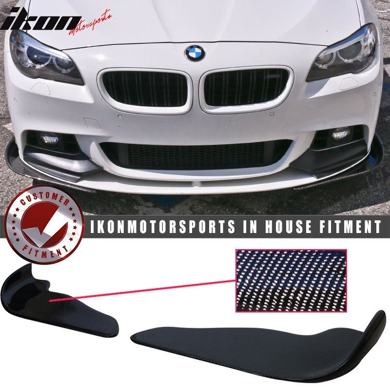 Universal Fit Carbon Fiber CF Winglet Type 2 Front