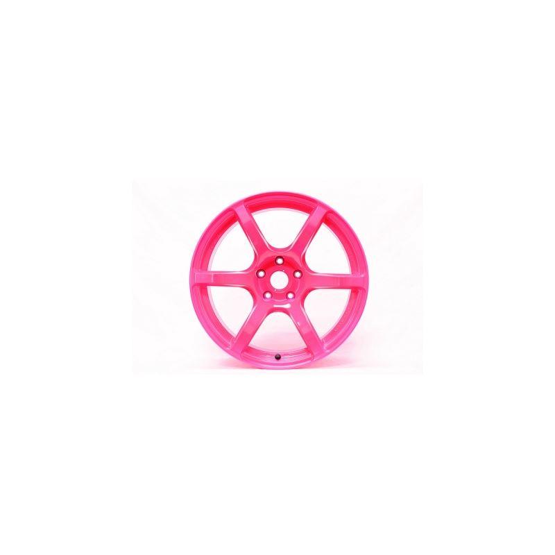 Gram Light 57C6 17x9 +40 5x100 Luminous Pink/Yello