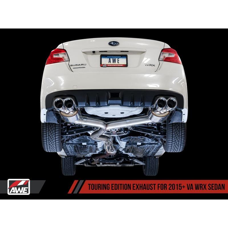 AWE Touring Edition Exhaust for 2015+ VA WRX/STI S