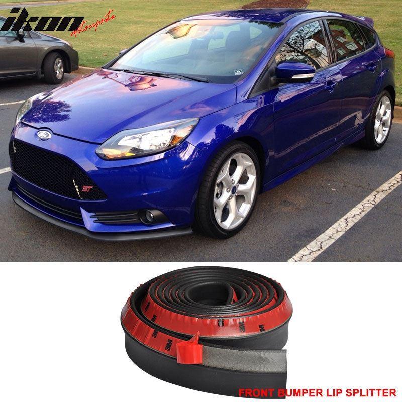 Foam 100 Inch Front Bumper Lip Kit Splitter Chin S