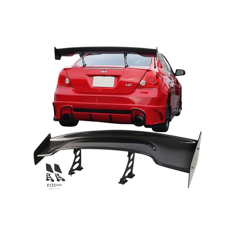 Universal 57 Inch JDM GT RS Type 3D Trunk Spoiler