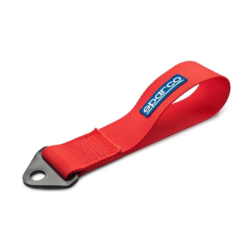 SPARCO TOW STRAP FIA RED