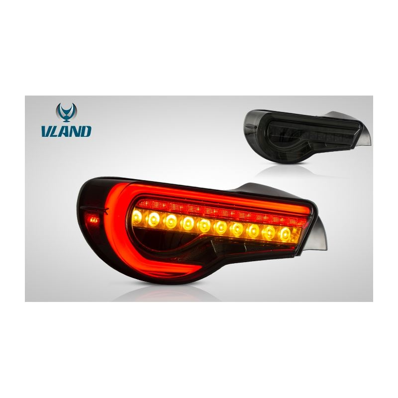 VLand Tail Light for 2012-2019 Toyota 86/Subaru BR