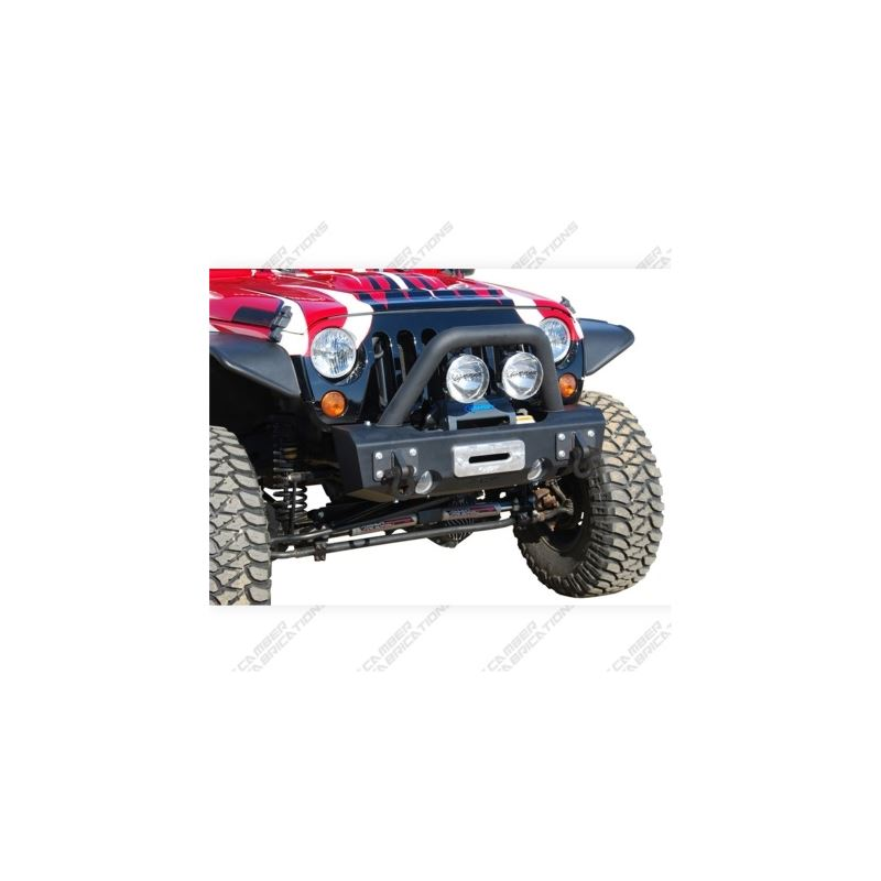 MBRP 07-18 Jeep Wrangler JK Front Stubby Non Winch