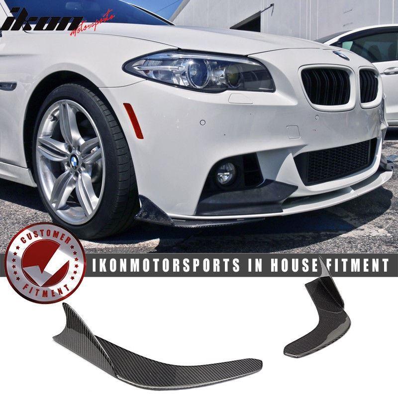 Universal Fit Carbon Fiber CF Winglet Type 1 Front