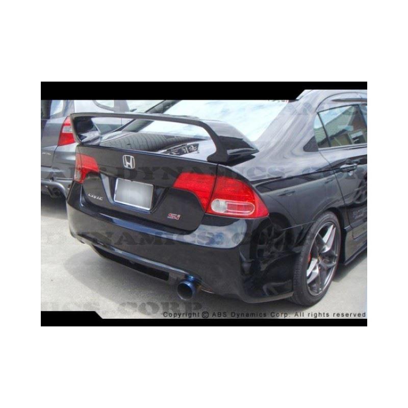 06-11 Civic 4D Type R Rear Bumper (PP)