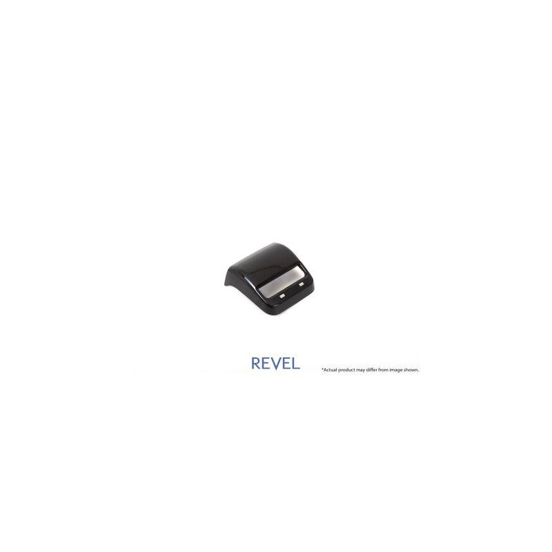 Revel GT Dry Carbon Rear A/C Panel Cover Tesla Mod
