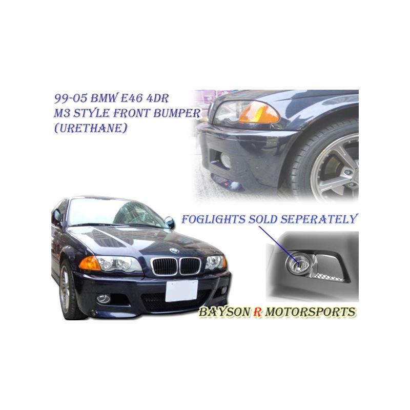 00-06 BMW E46 4Dr M3 Style Front Bumper (Polyureth